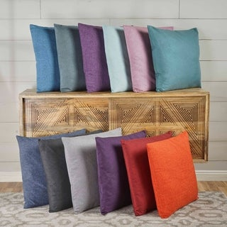 Link to Saskia Fabric Pillows (Set of 2) by Christopher Knight Home Similar Items in Decorative Accessories