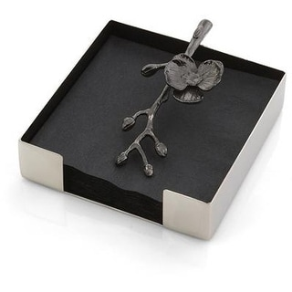 Michael Aram Black Orchid Cocktail Napkin Holder - 110738