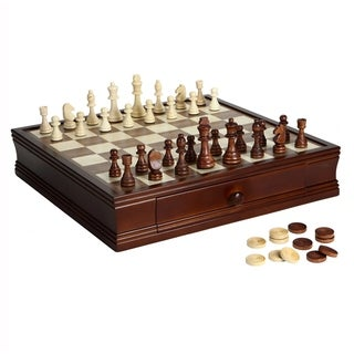 Link to Prodigy Wood Chess & Checkers Set Similar Items in Board Games