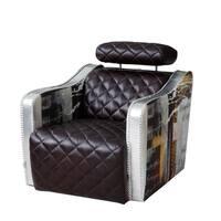Barnes Decoupage Arm Chair