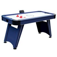 Voyager 5-ft Air Hockey Table - Blue