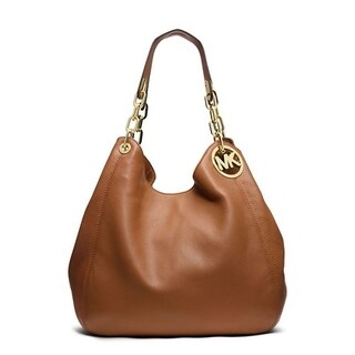 Michael Kors Fulton Large Leather - Tote - Acorn - 30H3GFTE3L-532