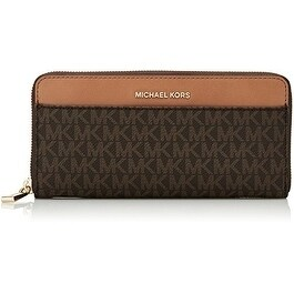 1c56466ee2dd Shop Michael Kors Mercer Logo Continental - Wallet - Brown - 32S7GM9E9B-200  - Free Shipping Today - Overstock - 17909941