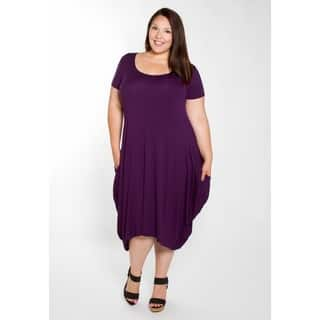 Sealed with a Kiss Women's Plus Size Kelly Tunic Dress|https://ak1.ostkcdn.com/images/products/17910305/P24092832.jpg?impolicy=medium