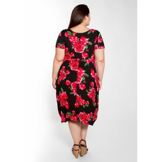 Sealed with a Kiss Women's Plus Size Kelly Tunic Dress (More options available)