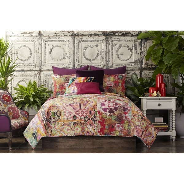 Shop Tracy Porter Winward Floral Printed Cotton Quilt