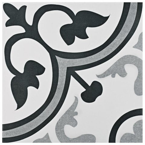 SomerTile 12.375x12.375-inch Fabiola Ceramic Floor and Wall Tile (10 tiles/11.07 sqft.)