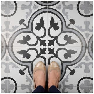 SomerTile 12.375x12.375-inch Fabiola Ceramic Floor and Wall Tile (10/Case, 11.07 sqft.)|https://ak1.ostkcdn.com/images/products/17910349/P24092840.jpg?impolicy=medium
