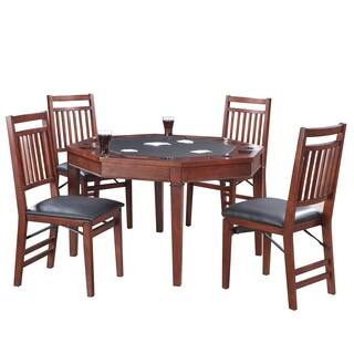 Broadway 48-in Folding Poker Table & Chairs Set|https://ak1.ostkcdn.com/images/products/17910443/P24093293.jpg?impolicy=medium