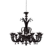 Eurofase Orillia 10-Light Chandelier, Chrome Finish - 16661-021
