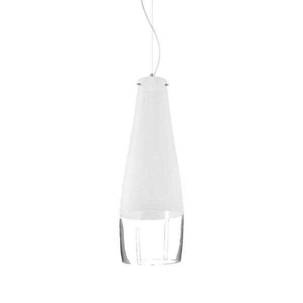 Eurofase Frossia Small 1-Light Pendant, Chrome Finish - 20457-013