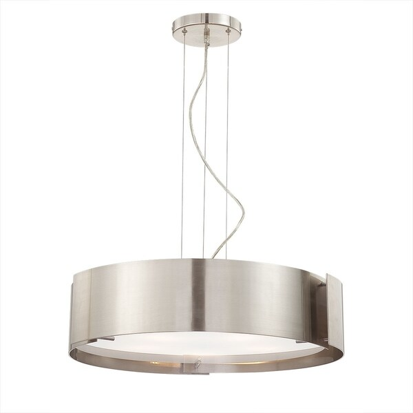 Eurofase Dervish 5-Light Pendant, Satin Nickel Finish - 12531-035