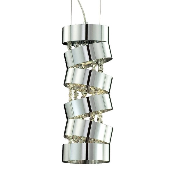 "Eurofase Ariella 1-Light Pendant - 20389-017 - 16.5"" high x 5.5"" in diameter"