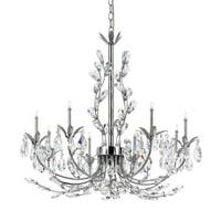 Eurofase Giselle 8-Light Chandelier, Chrome Finish - 19393-018