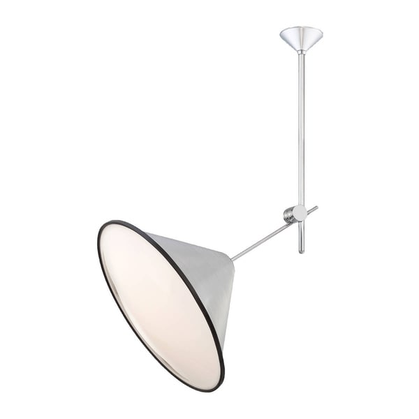 "Eurofase Manera 1-Light Pendant, Aluminum Finish - 22975-010 - 25"" high x 21.5"" in diameter"