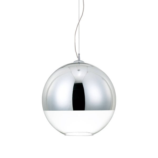 Eurofase Chromos 1-Light Large Pendant, Chrome Finish - 20455-019