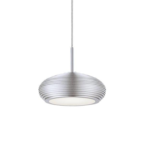 Eurofase Venti 1-Light LED Pendant, Aluminum Finish - 25668-018