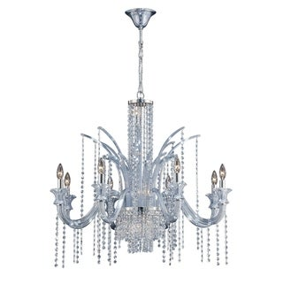Eurofase Nava 14-Light Chandelier, Chrome Finish - 26242-019