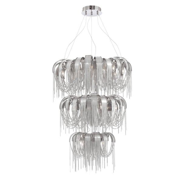 Eurofase Avenue 17-Light Chandelier - 26337-012
