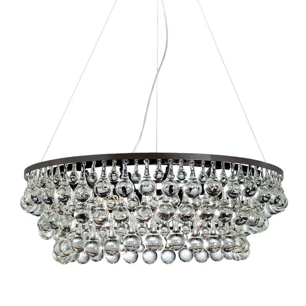 Eurofase Canto 12-Light Chandelier, Oil Rubbed Bronze Finish - 25690-019
