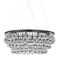 Eurofase Canto 8-Light Chandelier, Oil Rubbed Bronze Finish - 25689-013