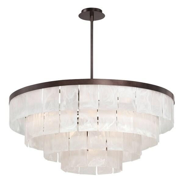 Eurofase Hainsworth 13-Light Chandelier, Bronze Finish - 28048-015