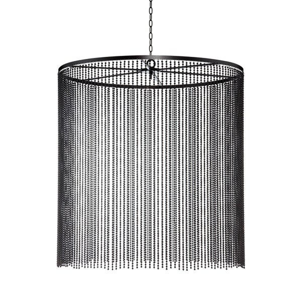Eurofase Bloomington Large Beaded Curtain Light Pendant, Bronze Finish - 26630-014