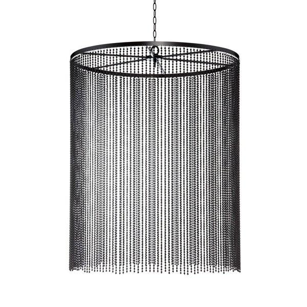 Eurofase Bloomington Small Beaded Curtain Light Pendant, Bronze Finish - 26629-018