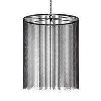 Eurofase Bloomington Small Beaded Curtain Light Pendant, Bronze Finish - 26629-018