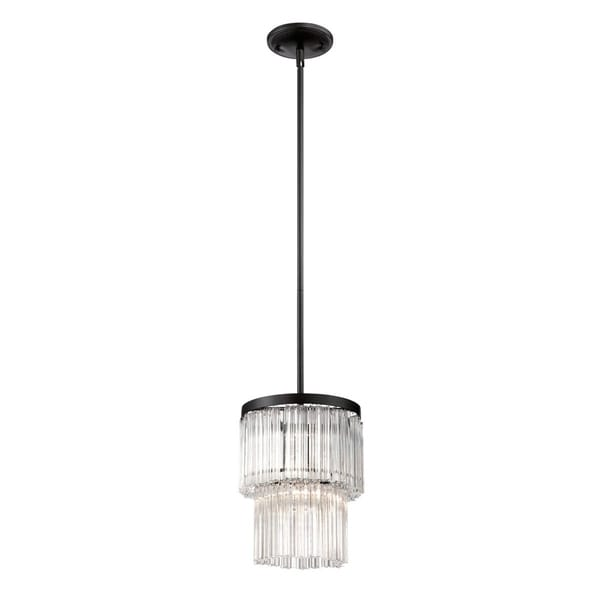 Eurofase Ziccardi 1-Light Pendant, Oil Rubbed Bronze Finish - 28083-016