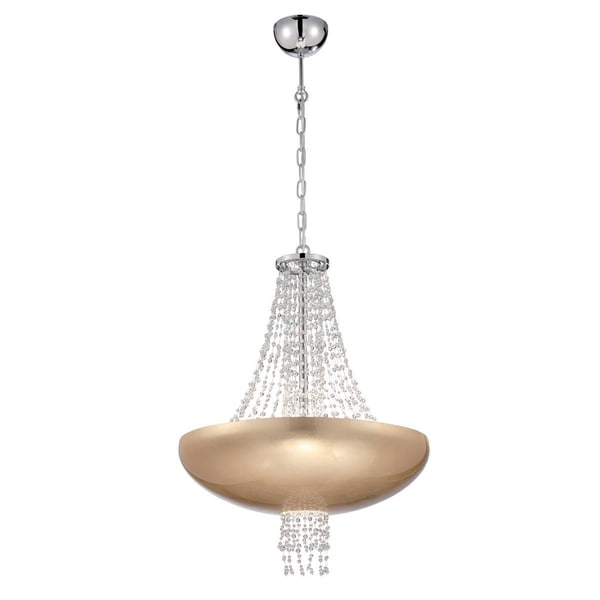 Eurofase Lopez 9-Light Pendant, Gold Foil Finish - 28108-030