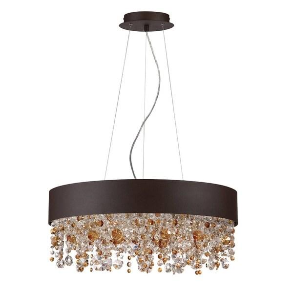 Eurofase Romanelli 6-Light Chandelier, Bronze Finish - 28150-022