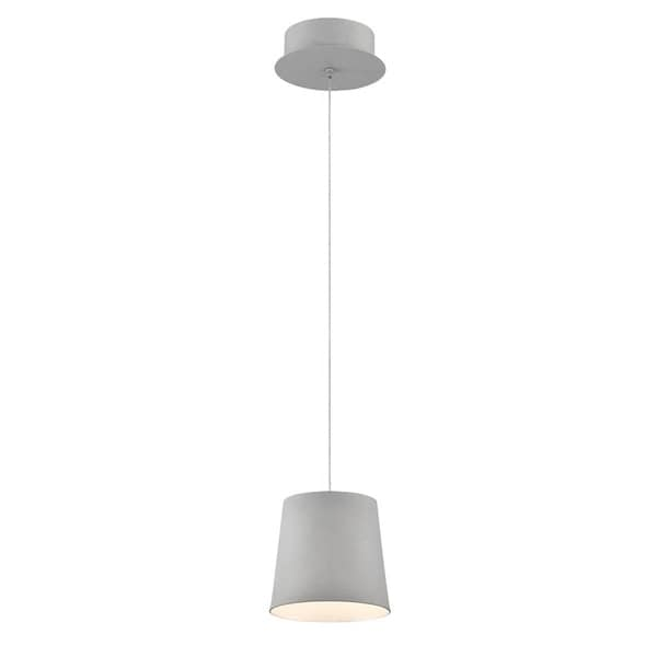 Eurofase Borto 1-Light LED Pendant, Grey Finish - 28161-035
