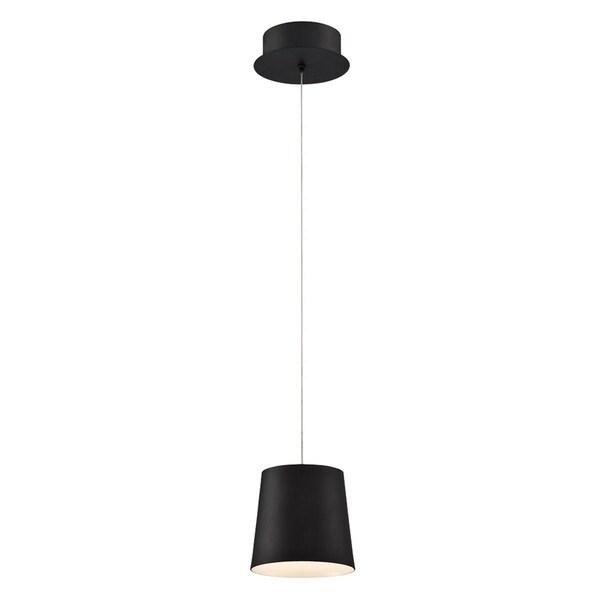Eurofase Borto 1-Light LED Pendant, Black Finish - 28161-028