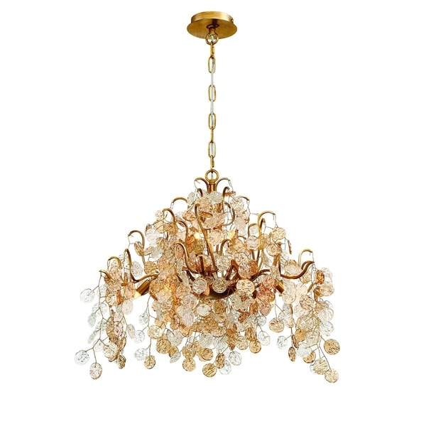 Eurofase Campobasso 11-Light Chandelier, Gold Finish - 29060-016