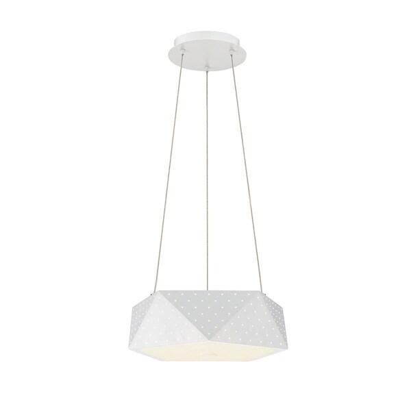 "Eurofase Acuto 4-Light LED Pendant - 29091-010 - 7"" high x 13.75"" in diameter"