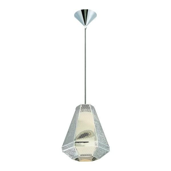 Eurofase Recinto 1-Light Medium Pendant, Chrome Finish - 30017-016