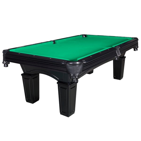 Shop cobra 8 ft slate billiard pool table w green felt free shipping today - Pool table green felt ...