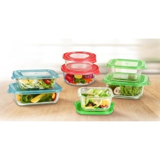 Diamond Home GlassFresh Food Storage Container Set