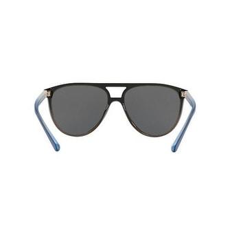e4464de76cad Shop Burberry Mens's BE4254 366287 58 Top Blue Grad On Olive Green Plastic Aviator  Sunglasses - Grey - Free Shipping Today - Overstock.com - 17910920