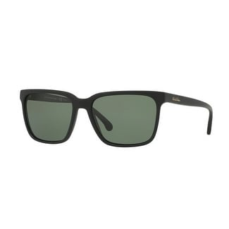 d3ff661e31b Brooks Brothers Mens  x27 s BB5032S 60649A 57 Matte Black Plastic Square  Sunglasses -