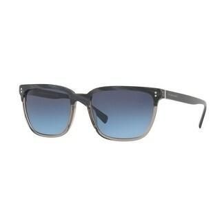 3230efa7e9ae Shop Burberry Square Be4255F 3661S2 Mens Blue Frame Blue Lens Sunglasses -  Free Shipping Today - Overstock - 17910948