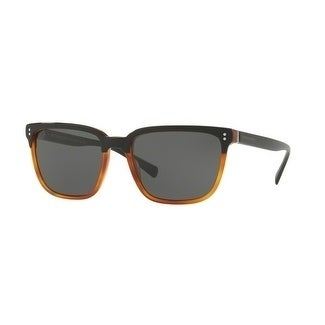 51527f81afab Shop Burberry Square Be4255F 36505V Mens Black Frame Grey Lens Sunglasses -  Free Shipping Today - Overstock - 17910990