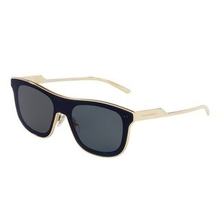 Dolce & Gabbana Mens's DG2174 35096 42 Dark Grey Rectangle Sunglasses