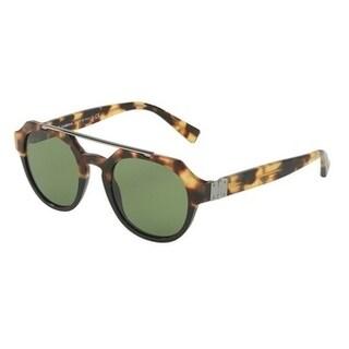 Dolce & Gabbana Oversized Dg4313 314352 Mens Havana Frame Green Lens Sunglasses
