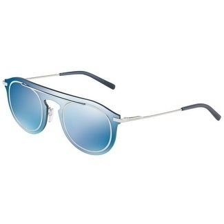 4d7358b6f4b Shop Dolce   Gabbana Round Dg2169 20210 Mens Blue Frame Blue Lens Sunglasses  - Free Shipping Today - Overstock - 17911011