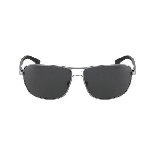 bb3d2e97f2b Shop Emporio Armani Rectangle Ea2033 313087 Mens Gunmetal Frame Grey Lens  Sunglasses - Free Shipping Today - Overstock - 17911086