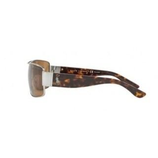 0a8a7582cad2e Shop Polo Rectangle Ph3041 900283 Mens Gunmetal Frame Brown Lens Sunglasses  - Free Shipping Today - Overstock - 17911163