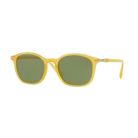 ce0ff2a519 Shop Persol Mens s PO3182S 10484E 51 Green Plastic Rectangle Sunglasses - Free  Shipping Today - Overstock - 17911287