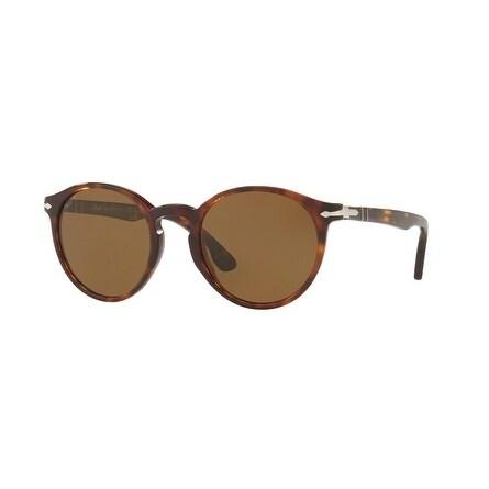 4590d348479 Shop Persol Aviator Po3171S 24 57 Mens Havana Frame Brown Lens Sunglasses -  Free Shipping Today - Overstock.com - 17911294